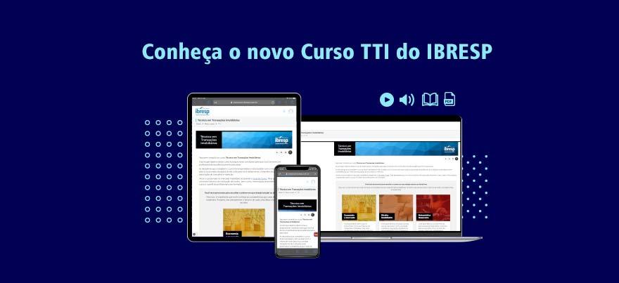 Conheça o novo Curso TTI do IBRESP