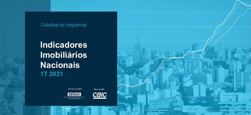 Vendas de imóveis têm alta de 27,1% no 1º trimestre de 2021