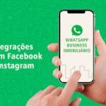 Como fazer integrações com Facebook e Instagram no WhatsApp Imobiliário