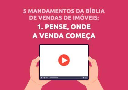 Onde começa a venda na Bíblia de Vendas para Corretores de Imóveis